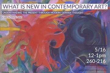 What is new in contemporary art? Understanding the present through